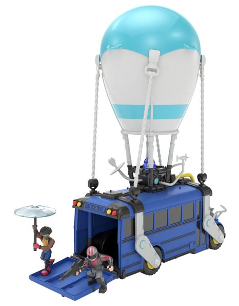 FORTNITE BATTLE BUS + 2 MINI ΦΙΓΟΥΡΕΣ