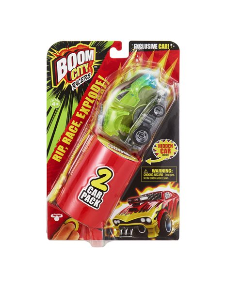BOOM CITY RACERS S1 DOUBLE PACK